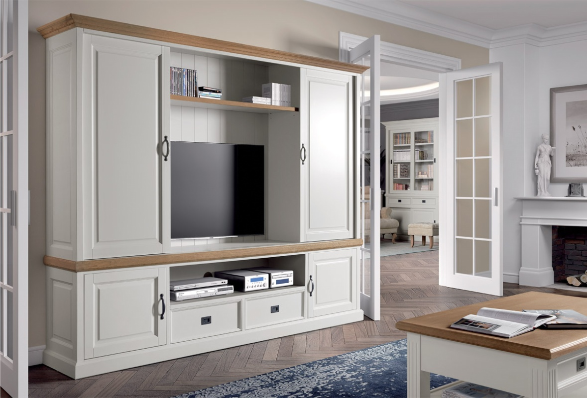 Mobilier TV Lovely Oak 250 x 50 x 206